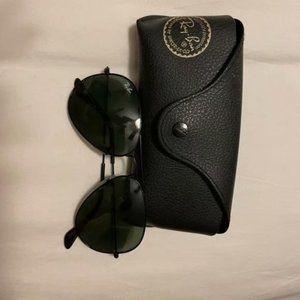 Ray-Ban Black Green Sunglasses 3025 58mm